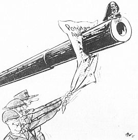 Potsdamer abkommen karikatur